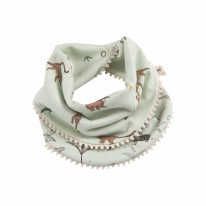 Bandana Playful Monkeys Aqua