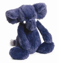 Bashful Elephant Blue