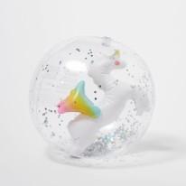 Beach Ball Unicorn 3D