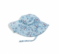 Beach Hat - Octopus 6-12m