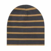 Beanie Stripes Curry 3-6m