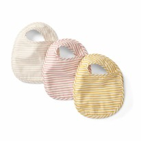 Bib 3pk Stripes Away Petal