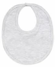 Bib Grey Stripe