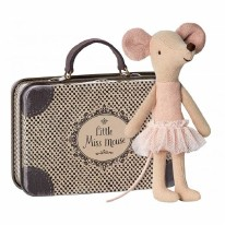 Big Sis Ballet Mouse in Tin