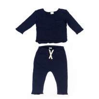 Bobbi Set - Navy 0-3m