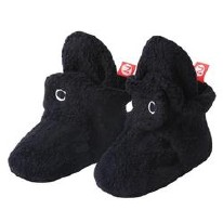 Booties Fleece Black 3M