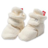 Booties Fleece Cream 6m