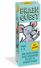 Brain Quest Q&A For Threes