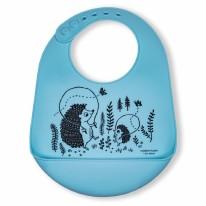 Bucket-Bib Hedgehog Family