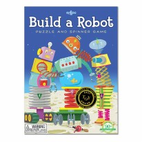 Build a Robot Puzzle & Spin