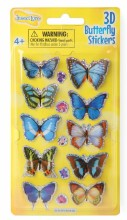 Butterfly Stickers 3D