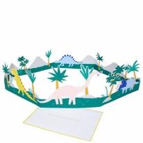 Card MERI HB Dinosaur 3D Scene