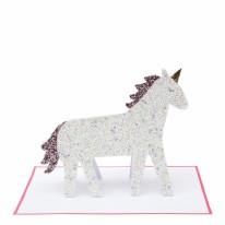 Card MERI HB Unicorn Glitter