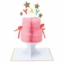 Card MERI HB Yay! Cake