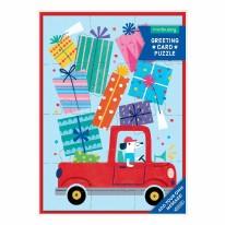 Card Puzzle- Birthday Truck
