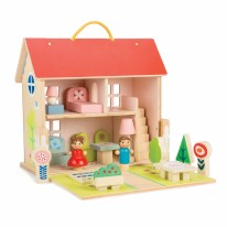 Carry Away Dolls  House Set