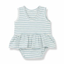 Ceret Onesie Dress Mint 0-3m
