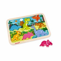 Chunky Puzzle- Dinosaurs