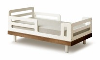 Classic Toddler Bed Walnut