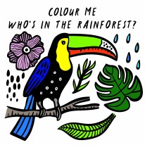 Color Me Rainforest (Bird) NS