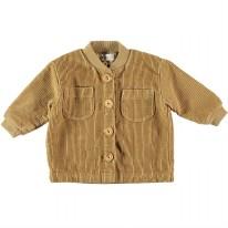 Corduroy Jacket Mustard 6-9m