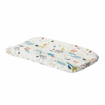 Changing Pad Cover Noah's Ark