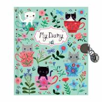 Locked Diary Teacup Kittens