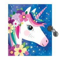 Locked Diary Unicorn