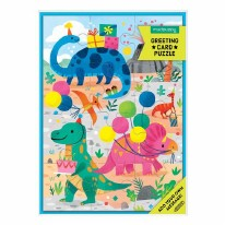 Card Puzzle- Dino Party