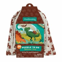 Puzzle To Go Dinosaur Park
