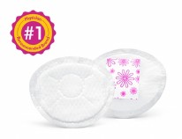 Safe & Dry Ultra-Thin Disposable Nursing Pads 60ct