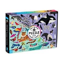 Animal Kingdom 100pc Double Sided Puzzle