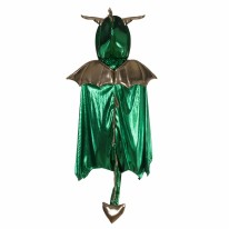Dragon Cape Green 3-4Y