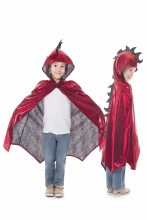 Dragon Cloak Red/Black