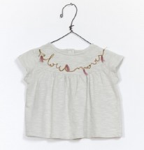 Embroidered TShirt Mint 9-12m