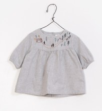 Embroidered Tunic 3-6m