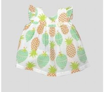 Eve Dress Pine Mint 3-6m