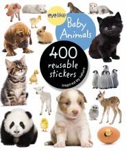 Eyelike Stickers Baby Animals