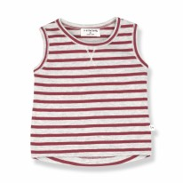 Eze Tank Top Red 12-18m