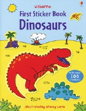 First Sticker Book Dinosaurs D