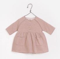 Fleece Dress 3-6m