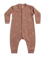 Fleece Jumpsuit Clay 3-6m