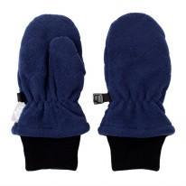 Fleece Mittens Navy 3-9m