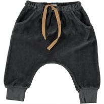 Fleece Pant Anthracite 6-9m