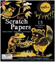 Foil Scratch Paper