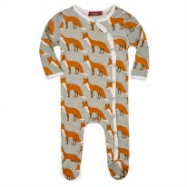 Footie Orange Fox