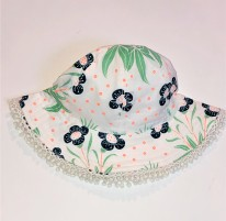 Frill Hat Lily 0-6m