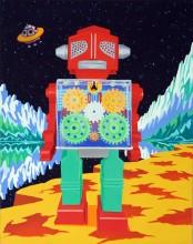 Gear Robot Giclee Print