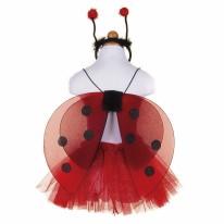 Glitter Ladybug Set 4-6Y
