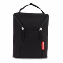 Double Bottle Bag Black